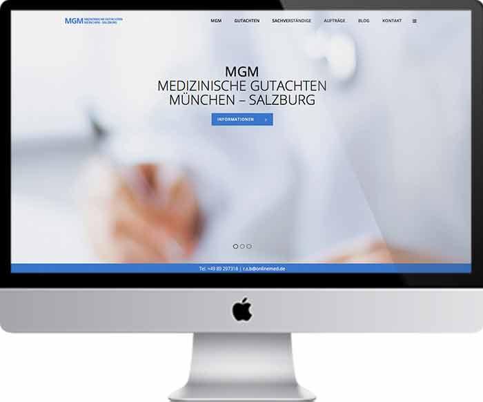 Webdesign München – Marken & Web Agentur München betreut Ärzte, Medizinische Gutachter und Kliniken mit ganzheitlichen Werbeleistungen. Webdesign ist eine unserer drei Säulen für Ihre Präsentation.