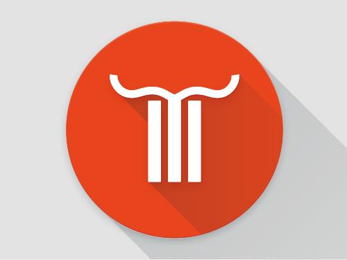Material Design Logo. Sie sehen das Material Design Logo für »Marlene Kern«. Um gebrauchsgrafische Kundenprojekte im Rahmen von «Marlene Kern Design« von künstlerischen Projekten unter meinem Namen »Marlene Kern« voneinander abzugrenzen und zum Anderen miteinander zu verbinden, entwickelte ich dieses Logo. Es visualisiert im Kern die Idee, dass die Verwurzelung in sich selbst erst persönliche Entfaltung beflügelt. Aus dem mittleren Balken des um 45° gedrehten mobilen Navigationssymbols erwachsen, wie aus dem Stamm eines Bäumchens, Flügelschwingen. Ein mehrdeutiges Sinnbild – individueller Entwicklung, befreiender Unabhängigkeit und authentischer Identität huldigend. Im kämpferischen Ausdruck visualisiert sich der Gedanke, dass eigene Standpunkte nicht nur zu entwickeln, sondern auch zu verteidigen sind. Material Design Logos sind eine wunderbare Möglichkeit, digitale Oberflächen mit sinnlicher Haptik in vollendeter Schlichtheit zu bereichern. Eine Fülle von transparenten Verläufen zeichnet ein Symbol aus Licht und Schatten. Subtile Farbüberlagerungen wirken über viele Ebenen zusammen und kreieren eine angenehme, weiche Ästhetik. Für Menschen, die täglich mit dem Computer arbeiten, gleichen Material Design Logos einem Geschenk, denn sie nehmen dem Bildschirm seine nüchterne Ausstrahlung. Gerne gestalten wir auch Ihr Logo im Stil sinnlicher Haptik. Für ein unverbindliches Beratungsgespräch sind wir unter Tel. +49 172 890 84 90 gerne für Sie da.
