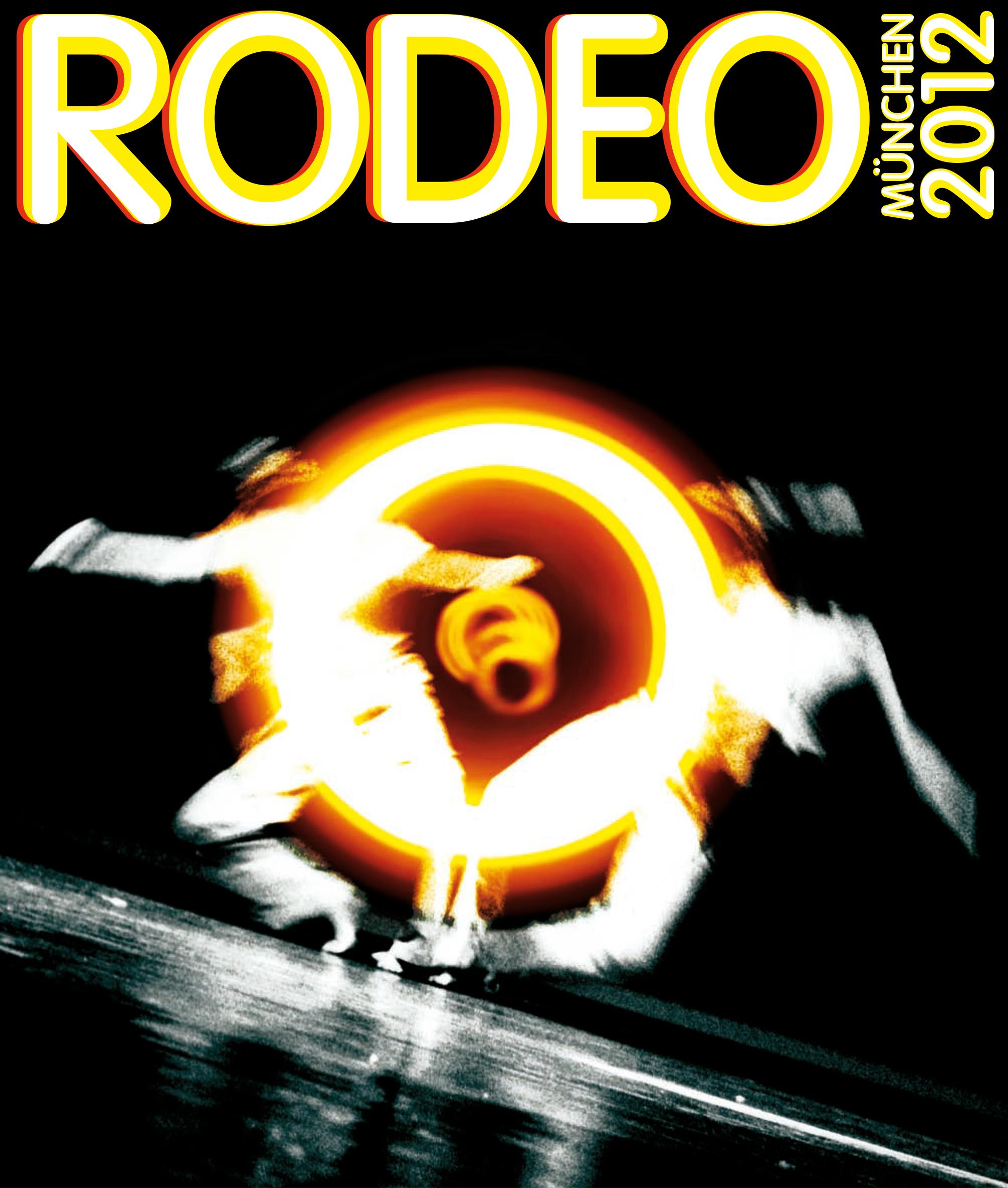 Markenschöpfung Kultur. Sie sehen das Key Visual für das Tanz- und Theaterfestival Rodeo, für dessen Gestaltung wir beauftragt wurden.