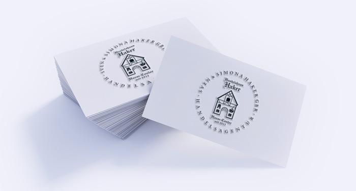 Markenlogo erstellen – Sie sehen das Markenlogo, das Marlene Kern Design, Kreativagentur München für eine Handelsagentur entwickelt hat.