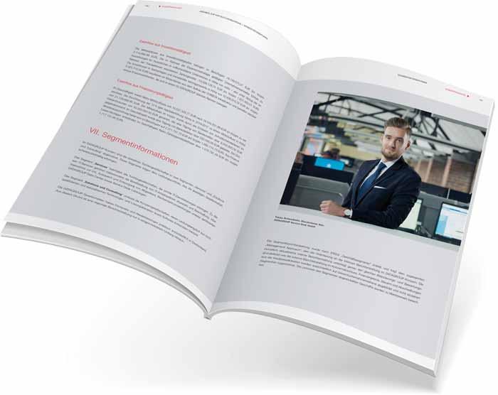 Geschäftsbericht Design – Marken & Web Agentur München gestaltet und produziert Ihren hochwertigen Jahresbericht.