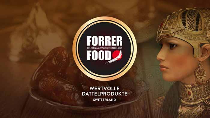 Markendesign Lebensmittel – Markenauftritt im Bereich Lebensmittel. Marken & Web Agentur München, Marlene Kern Design kreiert den Online Auftritt eines Dattelhändlers.