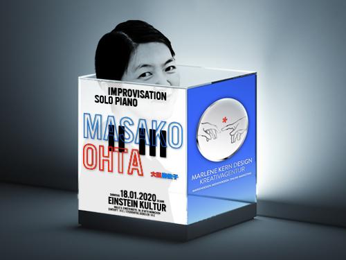 Masako Ohta – Improvisation Solo Piano – Markendesign, Mediendesign und Online-Marketing von Marlene Kern Design Kreativagentur München