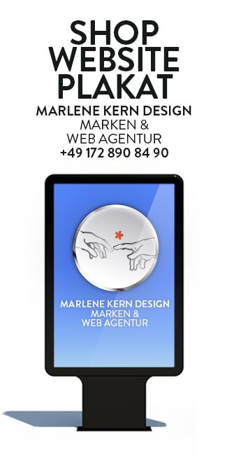 Media Design Munich - Marlene Kern Design offers you full service. Our Brands & Web Agency offers you these three pillars for your brand performance: brand design (brand strategy, graphic design, visualizations), media design (web design, development of e-commerce, print design) and online marketing. Everything your appearance needs. Very successful!