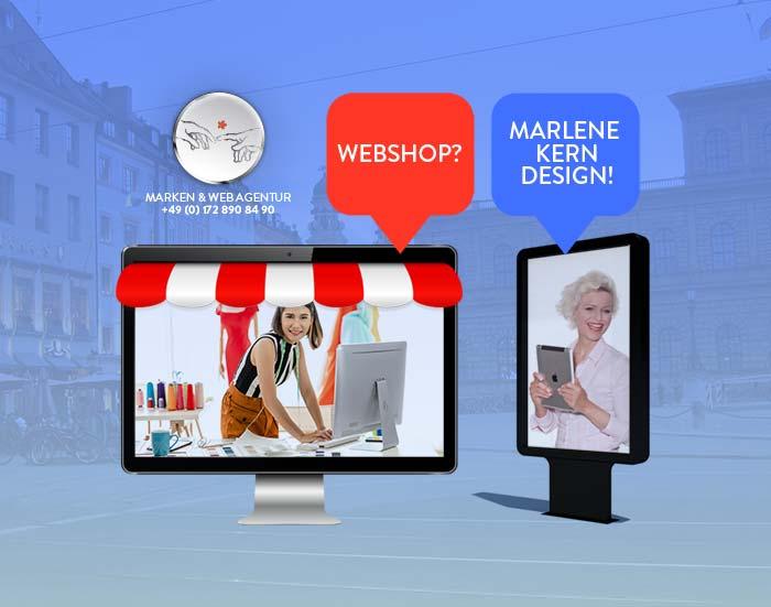 Online Shop erstellen – Marken & Web Agentur München erstellt Ihren Onlineshop. Marlene Kern Design bietet Ihnen nachhaltige Qualität & professionellen Prozess.