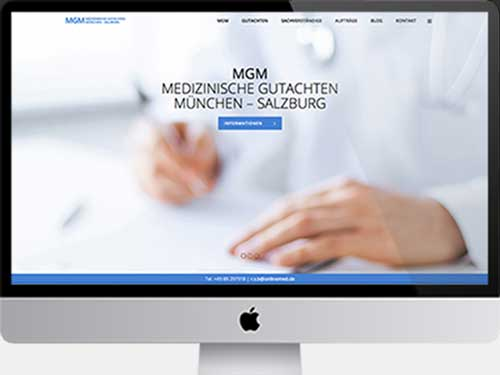 Web Design Munich – Brands & Web Agency Munich supports doctors, medical experts and clinics with holistic advertising services. Web Design is one of our three pillars for your presentation.